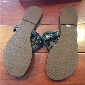 a0de42e6749d Tory Burch Shoes - NWT Tory Burch Miller Sandals Jitney Green